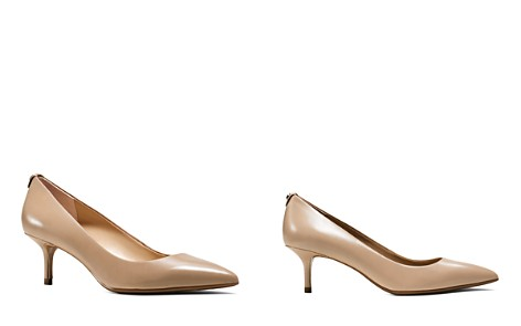 MICHAEL Michael Kors MK Flex Kitten Heel Pumps - Bloomingdale's_2